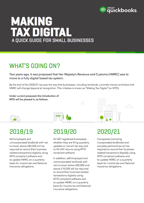 Making tax digital Yorkshire
